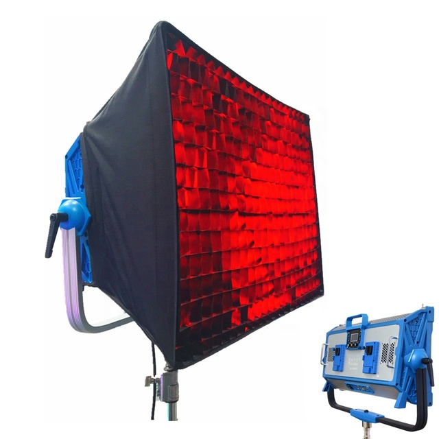 Yidoblo rgb AI-3000C 30000lm Portable Photography Photo Shoot Light Film Lihgt with Softbox Video Camera led Soft Light DMX 95ra