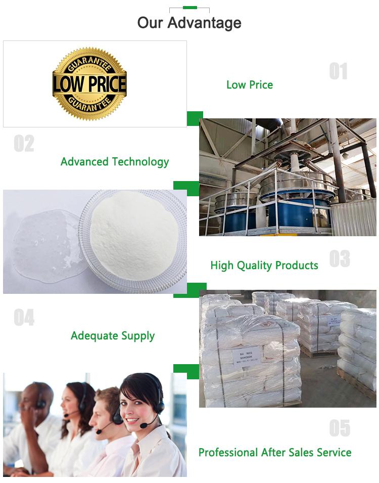 Coût Prix HPMC Gypse Agent Épaississant Stabilisant Poudre De Cellulose Produits Chimiques Utilisé dans le Mortier Additif Épaississant