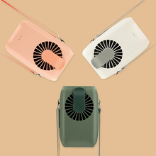 Musim Panas 2000 MAh Rechargeable USB <span class=keywords><strong>Mini</strong></span> Fan Portable Pendinginan Kalung Fan dengan Lanyard