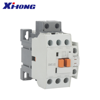 GMC-22 AC Magnetic Contactors 3P AC 440V with red copper coil controlled by AC220 single phase for overload industrial use