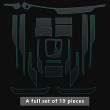 Автомобильная центральная консоль Шестерня переключения приборной панели Внутренняя крышка Накладка Защитная пленка для BMW G11 G12 7 серии ле...(Китай)