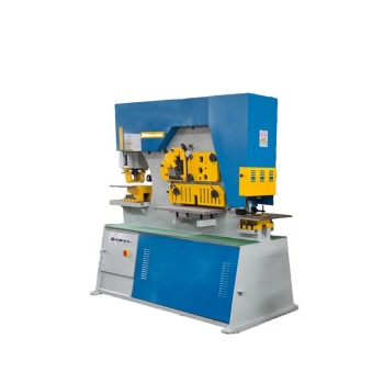 plate bending cnc hydraulic iron worker machine punching press machine