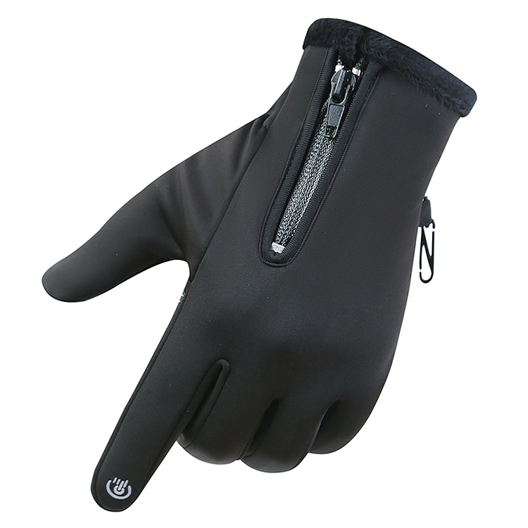 Touch-screen waterproof antiskid PU warm winter <strong>motorcycle</strong> <strong>riding</strong> gloves with custom logo