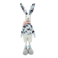 European style stuffed animal gifts home decor fabric crafts rabbit character easter bunnies