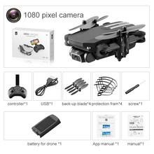 XKJ 2020 Новый мини-Дрон 4K 1080P HD камера WiFi Fpv воздушное давление удерживание высоты черный и серый складной Квадрокоптер RC Дрон игрушка(Китай)