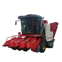 manufacturer 2/3/4/5 rows Farming machinery maize / mini corn combine harvester