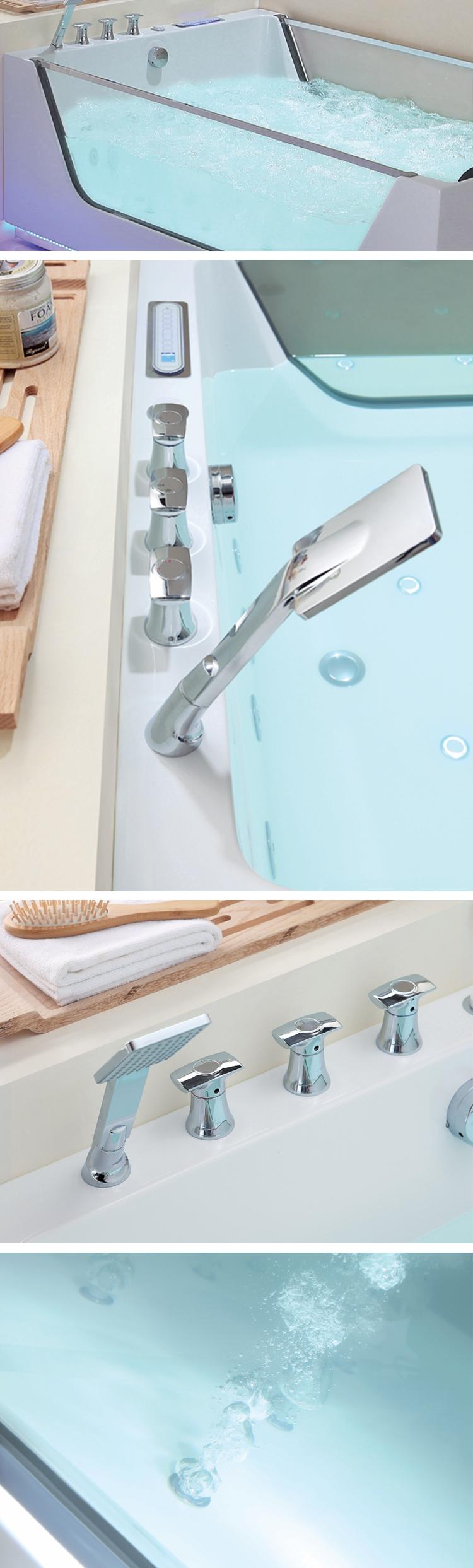 Badewanne moderne Kunstbäder, Whirlpool-Whirlpool-Massagebadewanne
