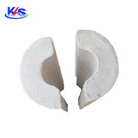 Perlite pipe is used for thermal pipe insulation