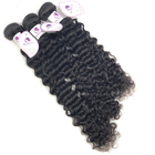 Brazilian Deep Wave 100% Unprocessed Virgin Cuticle Aligned Hair Brazilian Hair Bundles Deep Curly Human Hair Extension