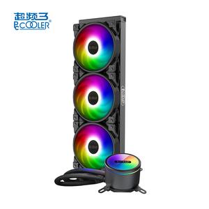 PCCOOLER GI-CX360 liquid all in one 400mm radiator three fan TDP 350W 5V 3PIN addressable LGA AMD cpu cooler