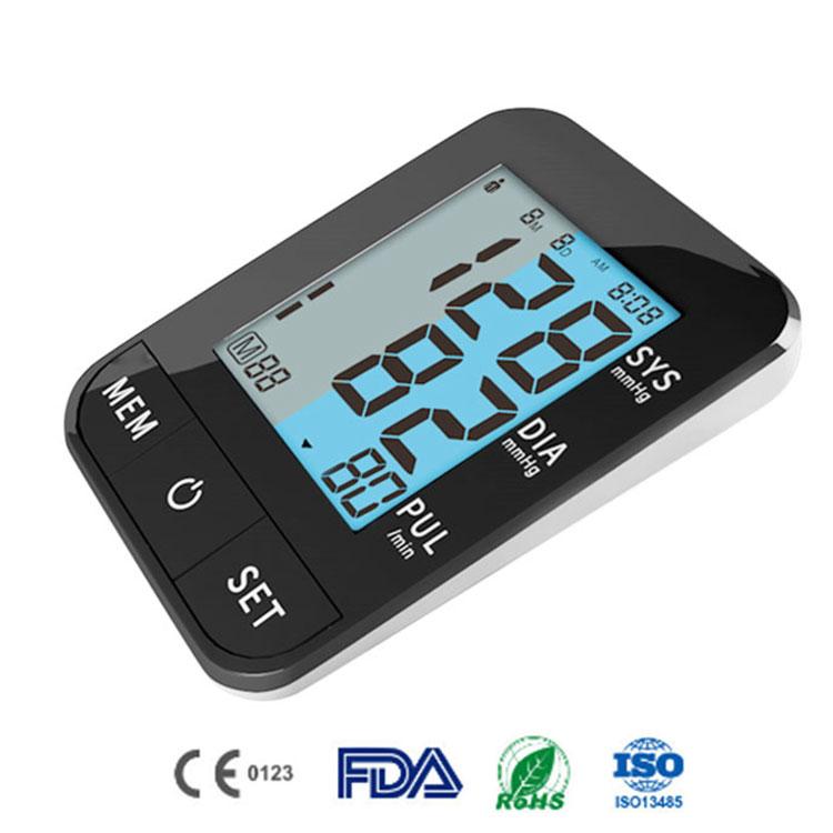 Hot Selling BP Machine Backlight Automatic Blood Testing Equipment Digital A Blood Pressure Monitor