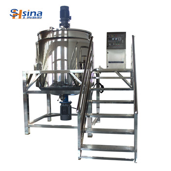 Shanghai latest Liquid soap mixer machine to make shampoo liquid detergent agitator Mixer