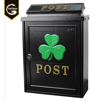 Outdoor Villa Residential Post Letter Box MailBox with Lock