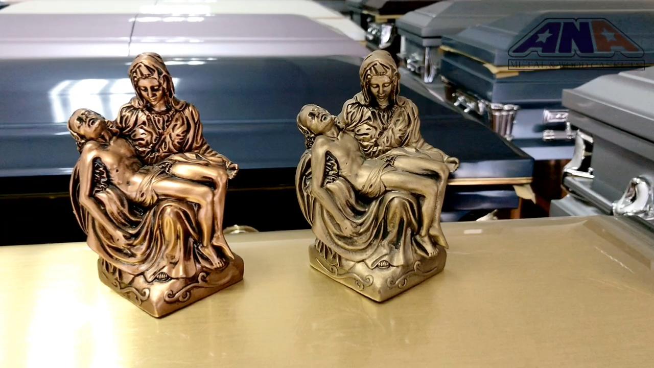 ANA casket corner gold silver copper steel funeral cementery funerals accessories