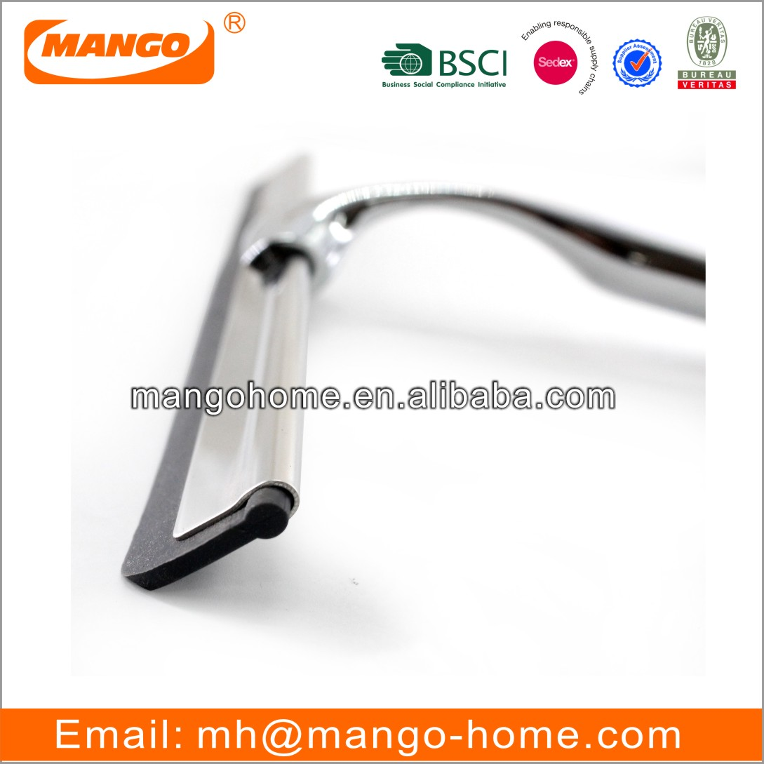 Modern Stainless Steel Squeegee Glass Shower Window Squeegee Table Cleaning Wiper Metal Squeegee