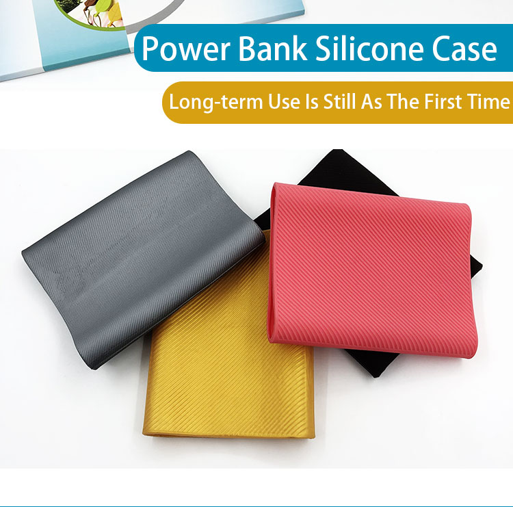 2019 Hot Sale Disesuaikan Power Bank Grosir Cover Silicone Power Bank Shell