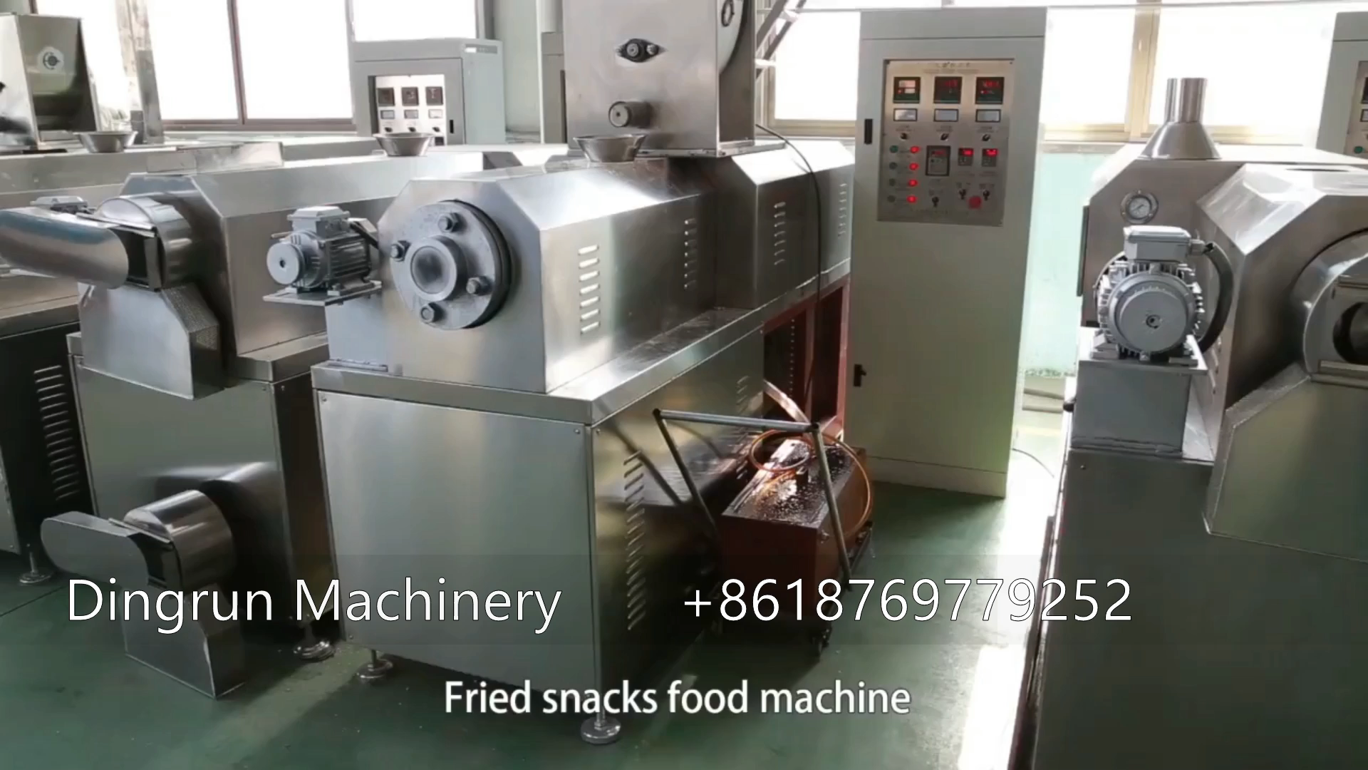 corn chips machine line with packaging