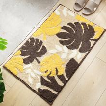 Ковры для гостиной с растительными листьями, полиэстер, ванная комната, кухня, впитывает воду, ковер 40x60 см, современный домашний коврик alfombra(Китай)