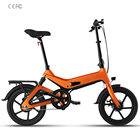 250w city electric bike 48V folding bicycle with electric motor