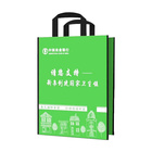 Shopping Bag Wholesale Promotional PP Non-woven Printed Tote Shopping Bag Wholesale Printable Reusable Non-woven Fabric Bag With Logo