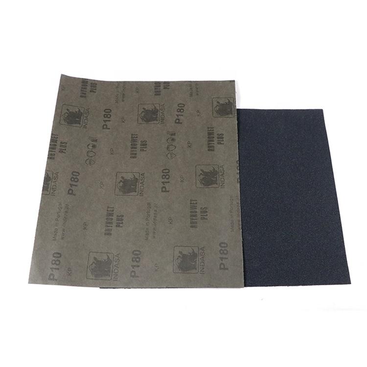 P60-P2000 Rhynowet Indasa Schuurpapier Siliciumcarbide Water Proof Latex Papier