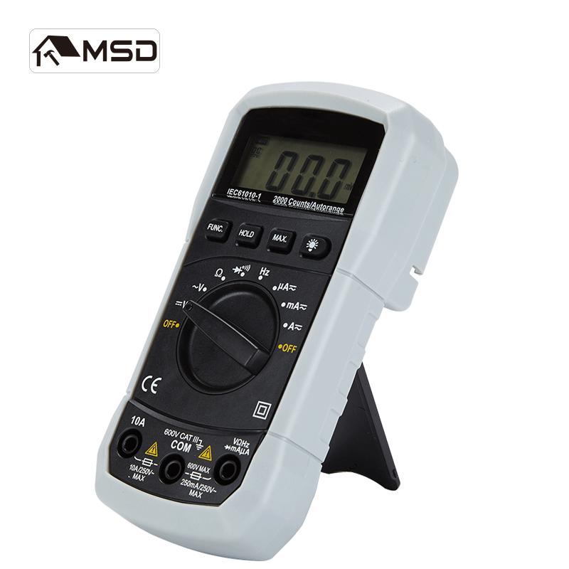Цифровой мультиметр измеритель тока AC/DC Сопротивление напряжения тестер емкости обнаружения