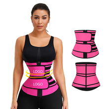 Groothandel Custom Logo <span class=keywords><strong>Riem</strong></span> Body Shaper Slimmiing Strakke Latex Dubbele Strap <span class=keywords><strong>Taille</strong></span> <span class=keywords><strong>Trainer</strong></span> <span class=keywords><strong>Riem</strong></span>