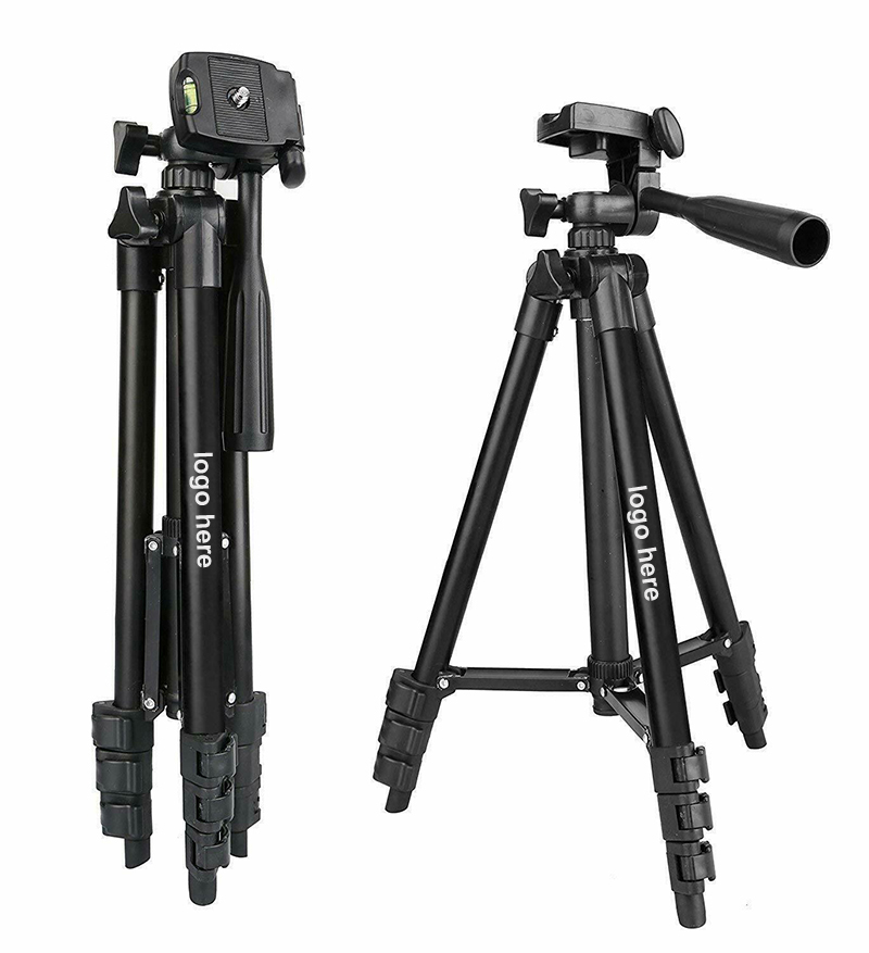 Compatible with Olympus Pen E-PL6 DURAGADGET Camera Tripod with Extendable Legs and Ball-Tilt Head in Black /& Gold