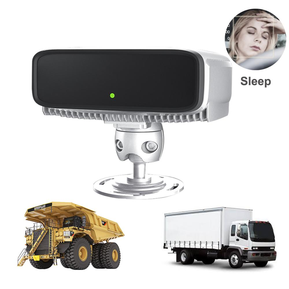 Chili Santiago Gebruik High End Dsm Ds03 Anti Slaap Op Auto Truck Fleet Beveiliging Audio Surveillance Digitale Camera Monitor System