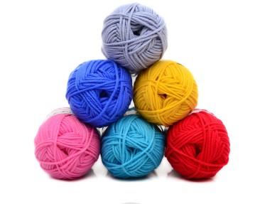 eco-friendly Hand Knitting crochet milk cotton yarn