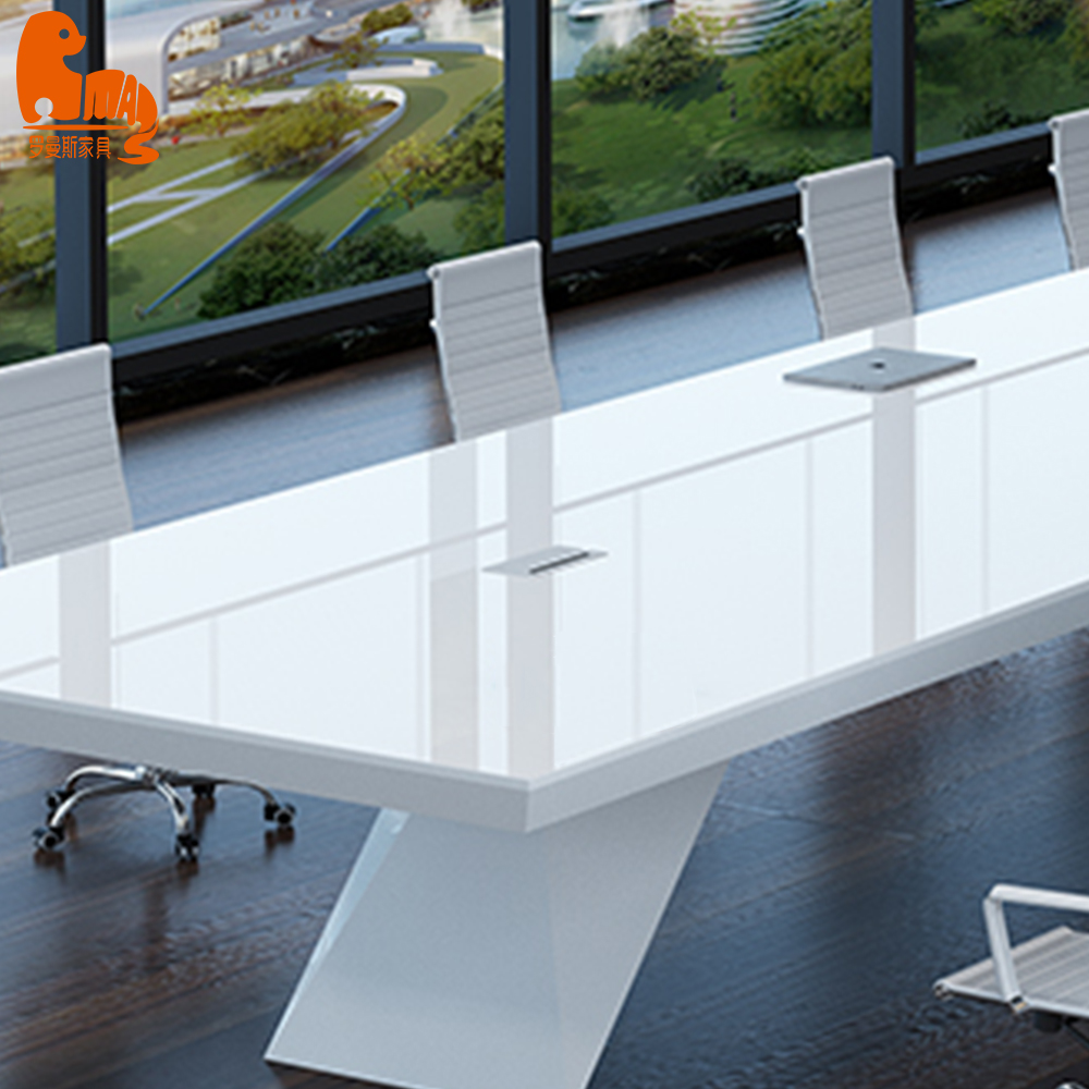 2.4m Modern meeting room furniture design Conference table