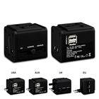 2.1A International travel adaptor With 2 USB Charger Universal travel Adapter