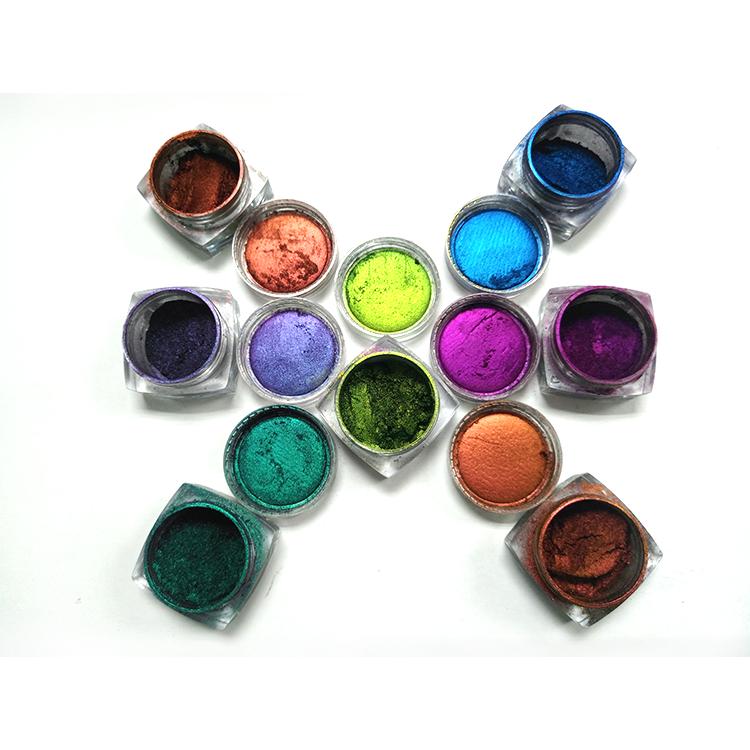 Kolortek Oem/Odm Losse/Pers Kleur Veranderende Make Pigment Kameleon Poeder