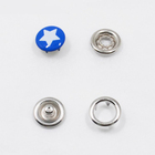 Oeko tex standard brand manufacturer press button metal prong snap button for baby clothes