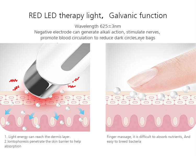Wholesale Red Light Therapy Wrinkle Removal Pen Eye Care Massager