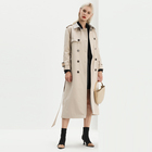 Full Sleeve Trench Coat Trench 2020 New Fashion Custom Single Breasted Spring Ladies Women Long Trench Coat