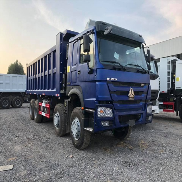 Cheap used 31-50 tons Howo 8x4 Dump Truck for sales