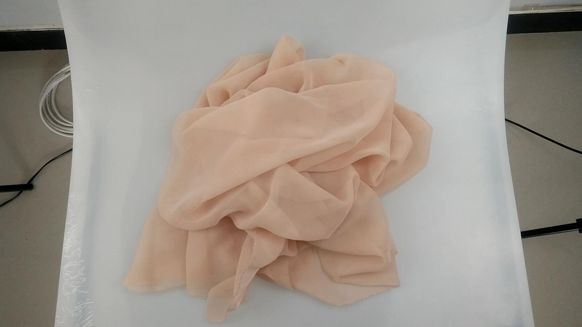 """80 s 42 """"filé polyester voile tissu avec fil compact pour la turquie écharpe"""