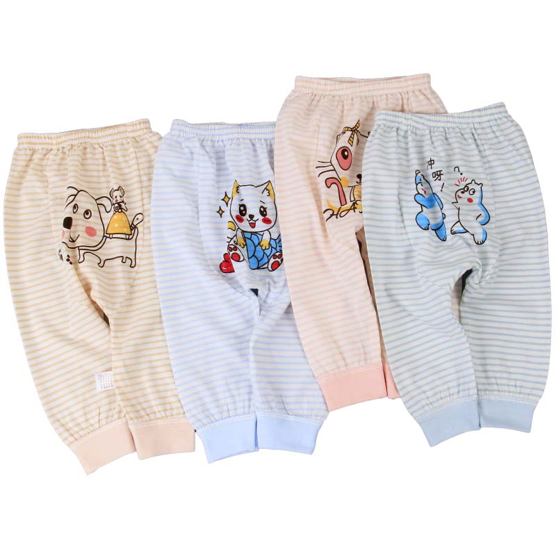 2020 spring and summer baby clothing wholesale high quality baby PP pants knitting 0-3-year-old baby Hougong pants