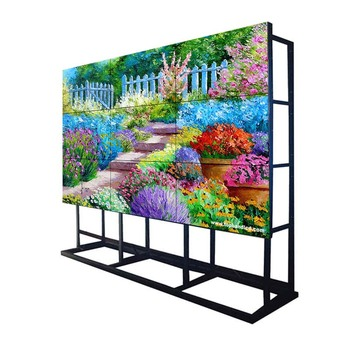 4K 10 to Touch Screen Kiosk media video walll wall mounted paper display led price