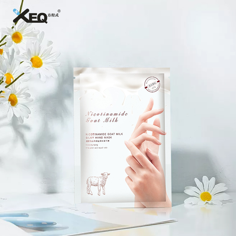 Private Label Hand Dyed Herbal Ingredients Moisturizing Nourishing Tightening Hand Peeling Mask