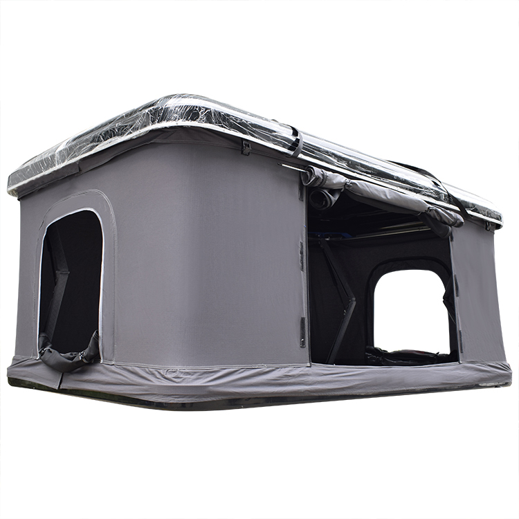 Diy Folding 4x4 Wd Suv pop-up open outdoor Canvas camping box ABS automatic hard shell roof top car rooftop tent for sale