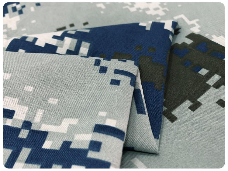 Digital print military uniform digital camouflage fabric