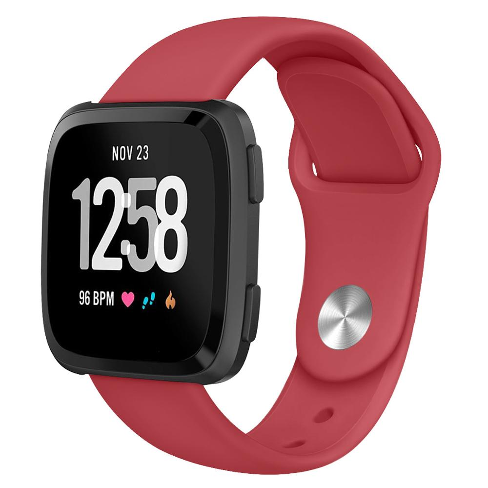 22mm Soft Silicone Band compatible with Fitbit Watch, fitbit versa/versa lite