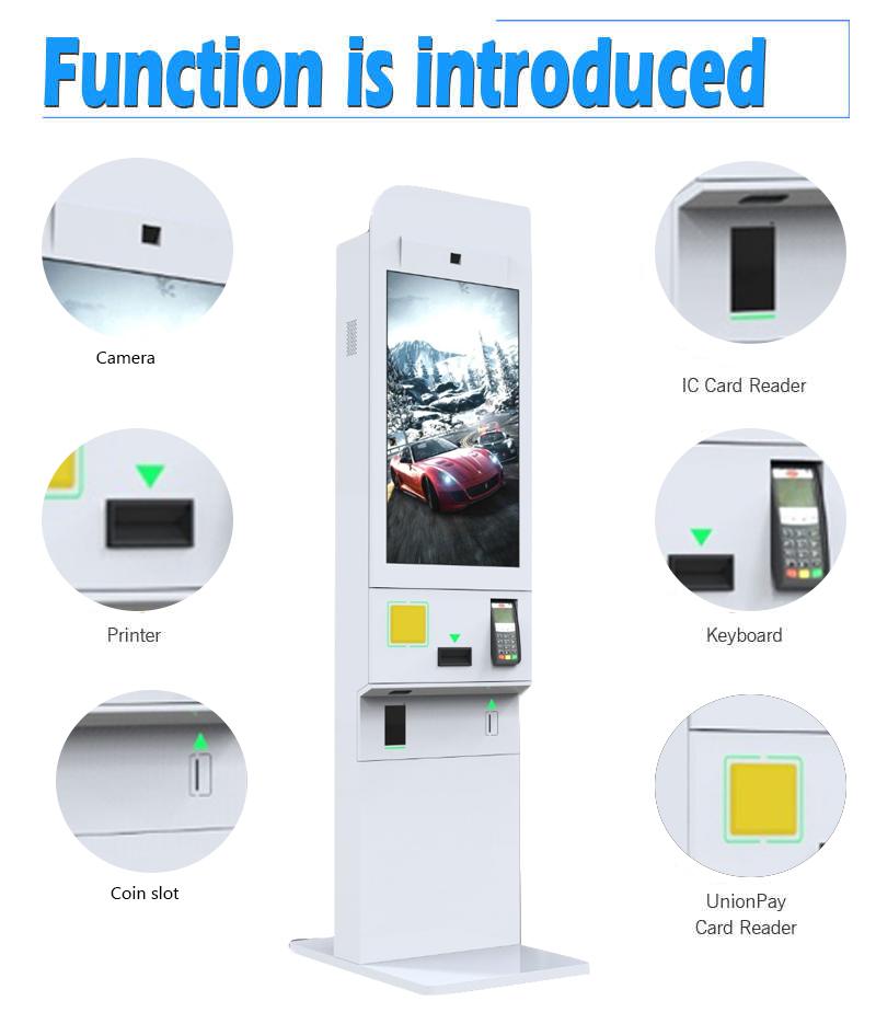 Sistema de Pedidos restaurante Self Service Quiosque Internet Fast Food Máquina de ordem Com O Reconhecimento Facial