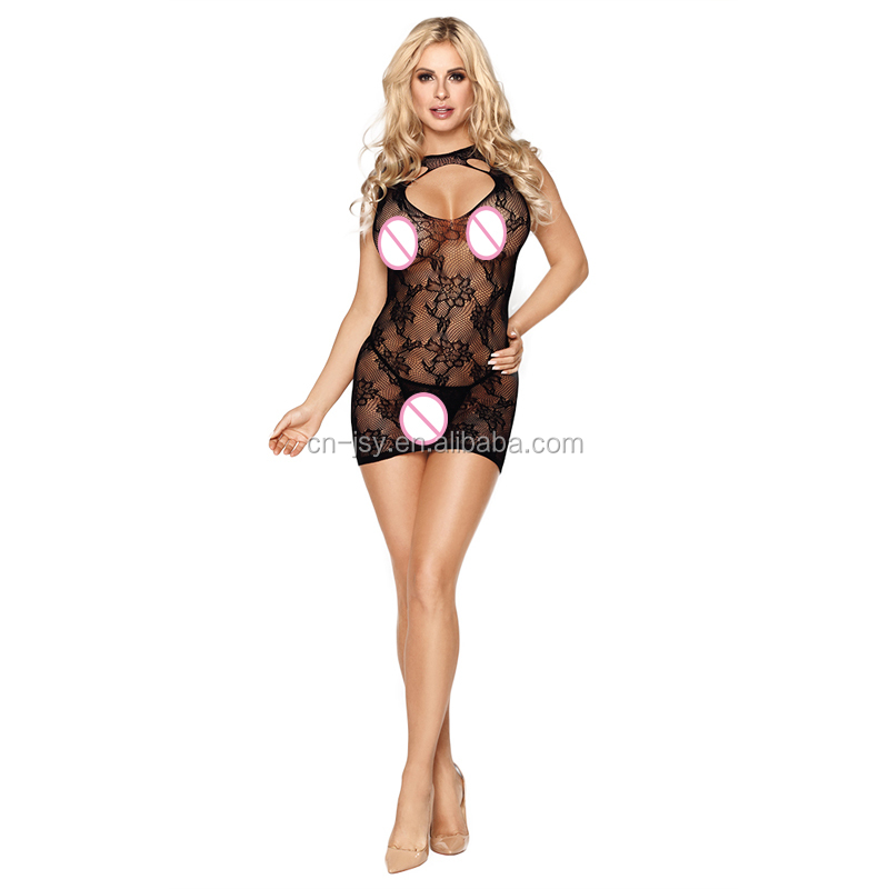 Hot Transparent Frauen Sexy Dessous Mitternacht Babydoll Teddy Body Unterwäsche