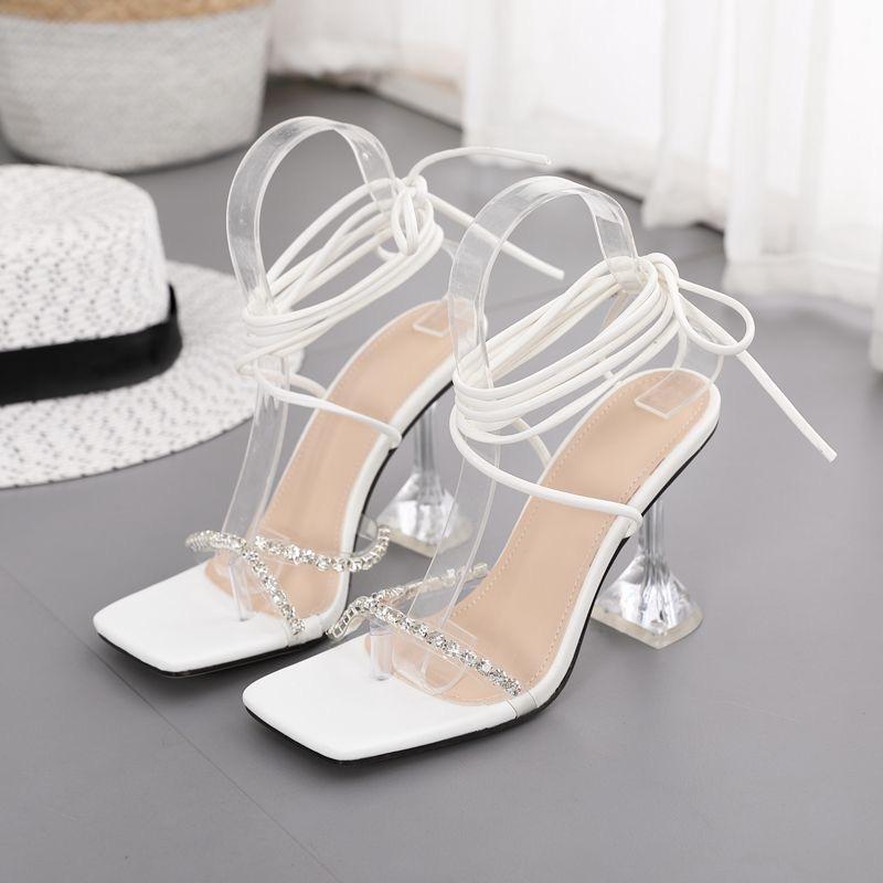 2020 chaussures à talons hauts pour femmes Pu supérieure en chine femmes sexy sandales de soirée
