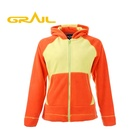 Good price high quality thick winter colorful jackets fleece hoodie jacket