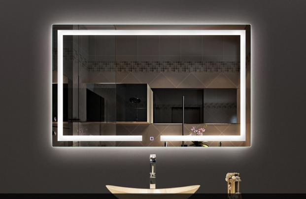 Bedroom Full Length Wall Vanity Mirror With Lights ...