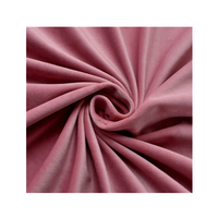 HOT SALE Polyester brushed velvet upholstery fabric for Curtain